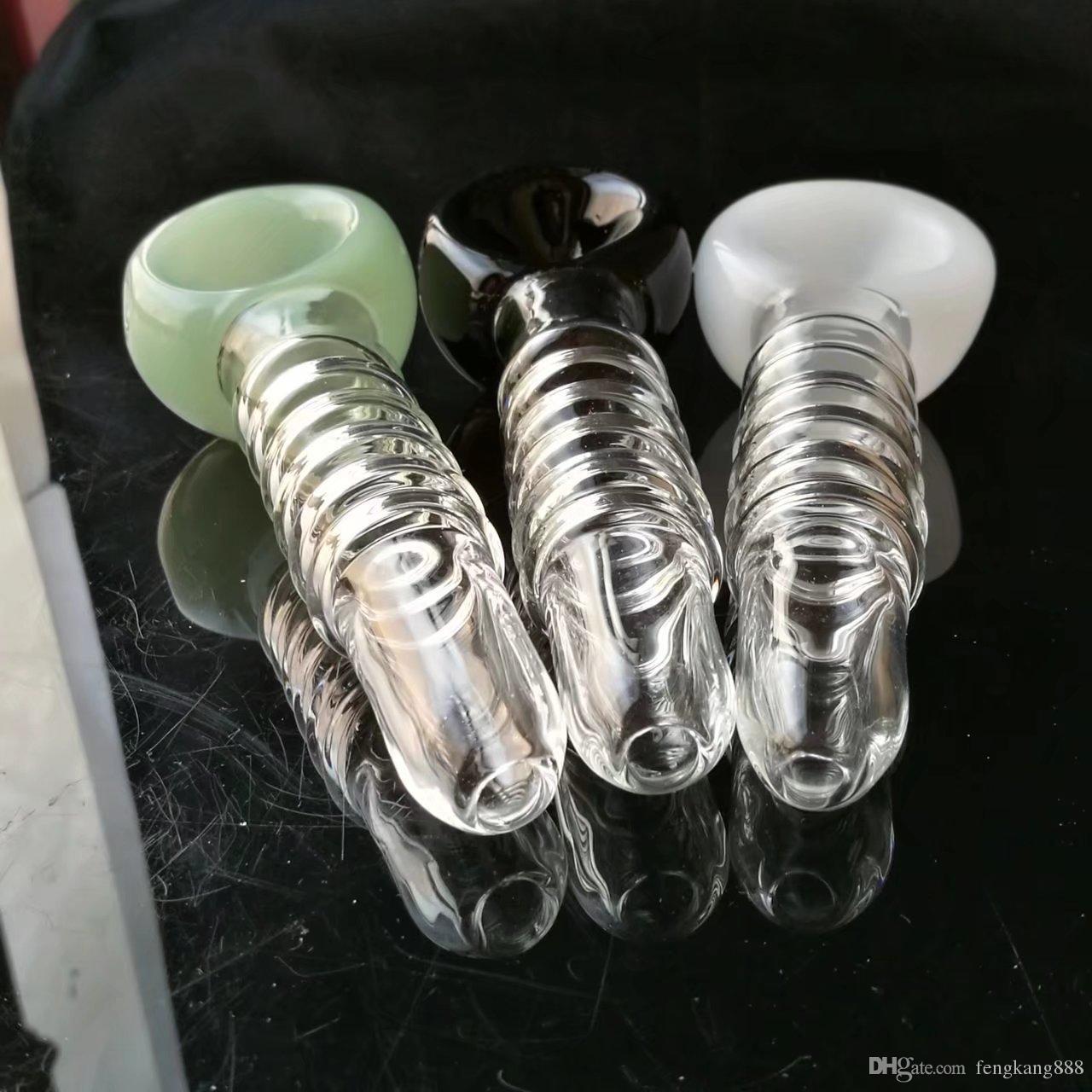 Fünf Runde der farbigen Fovea, Großhandel Bongs Ölbrenner Rohre Wasserpfeifen Kawumm Bohrinseln Raucher Kostenloser Versand