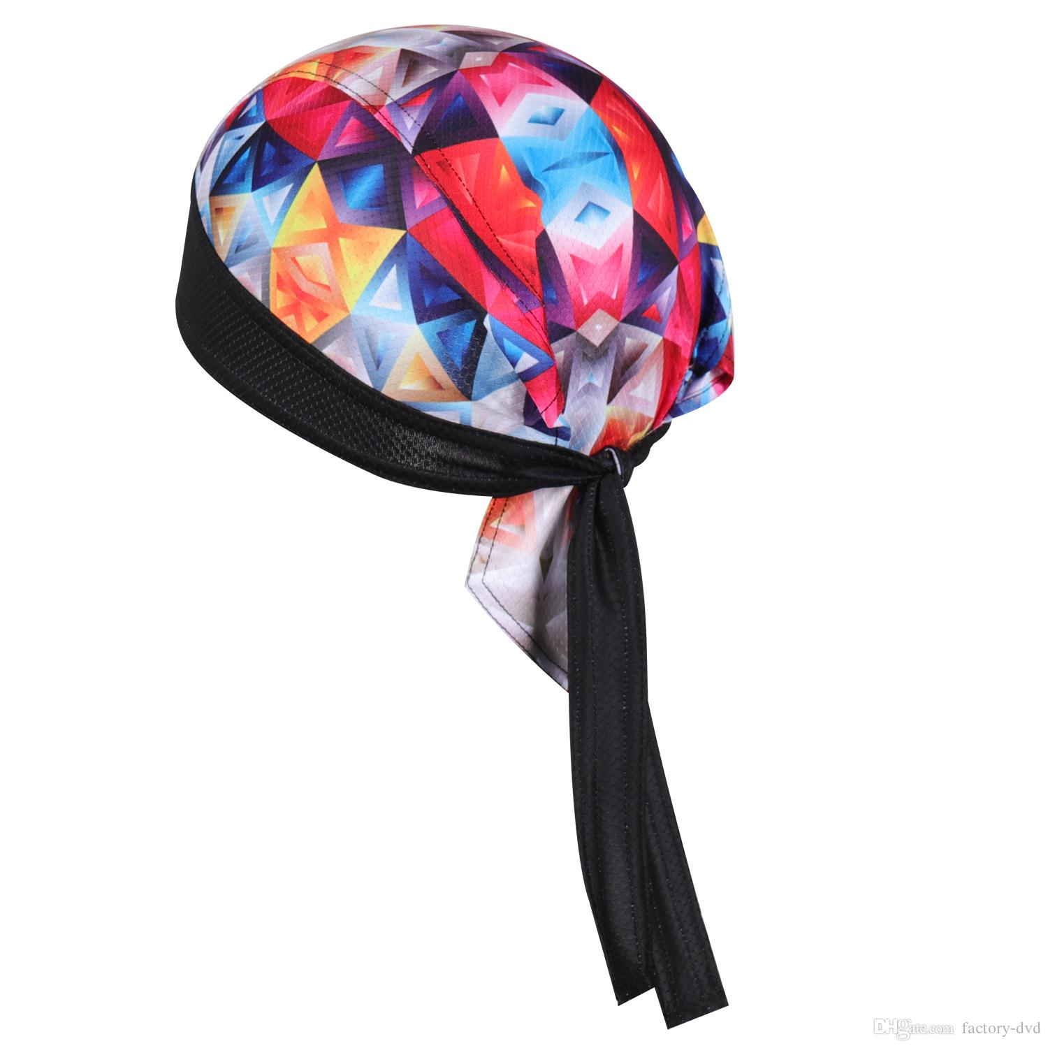 86ee7dd7 2019 Chuangdi100% Polyester Thaddeus Outdoor Sport Bike Bicycle Bandana Hat  Sweat Cycling Cap Pirate Head Scarf Headband Headwear From Factory Dvd, ...