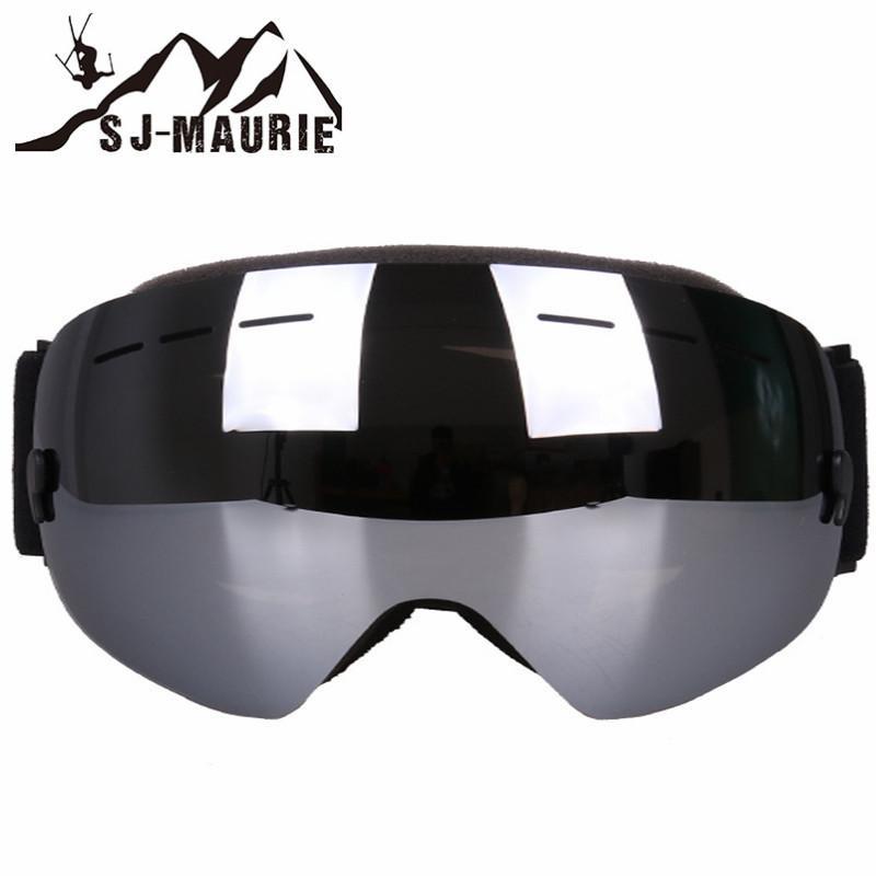 9b3d85e890a7 SJ-Maurie Ski Goggles Women UV400 Anti-fog Big Ski Mask Glasses ...