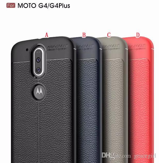 check out 1b99e f12d3 Carbon Fiber Brush Hybrid Armor Case For Motorola MOTO G4 Play G4 Plus  Oneplus 3 3T One Plus Soft TPU Rubber PC ShockProof Cell Phone Cover
