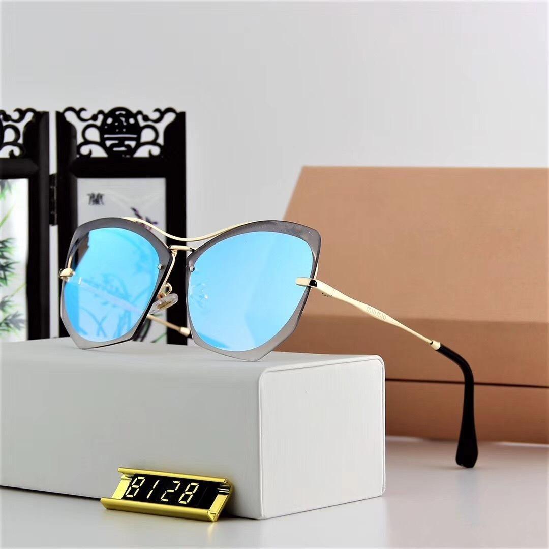 d992de0c41 Women Inspired Black Gold Metal Summer Style Sunglasses 8128 Fashion  Designer Brand Women Sunglasses 2018 New With Case Wholesale Sunglasses  Cool Sunglasses ...