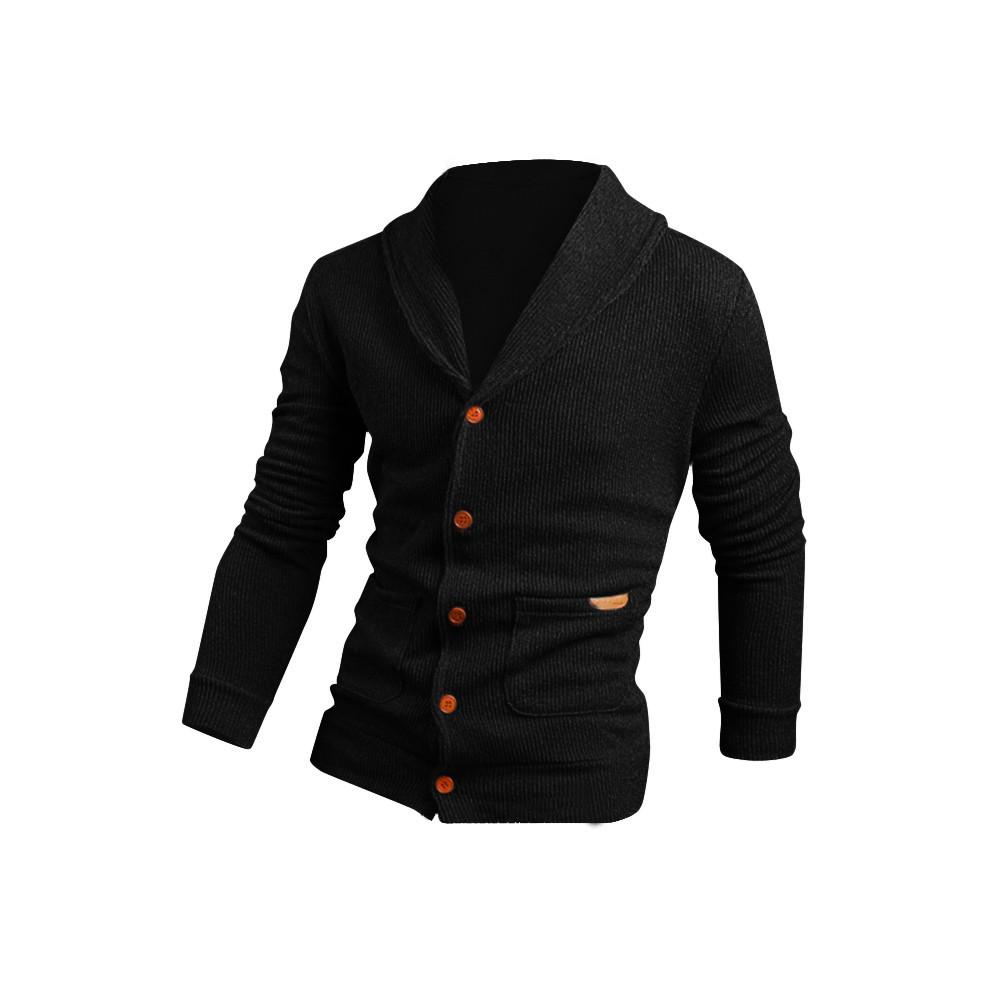 2017 Pull Hommes Mode Hiver Chaud Chandail Tricoté Casual Mâle Lâche Veste Manteau Hommes Garçon Outwear Tricots Manteaux JY13h