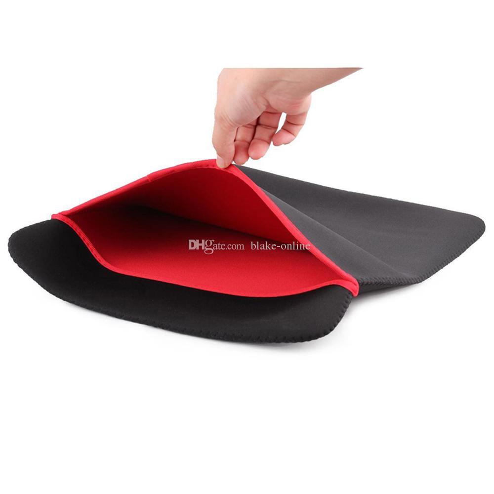 حقائب الكمبيوتر اللوحي الساخن 6-17 بوصة النيوبرين لينة الأكمام حالة الكمبيوتر المحمول الحقيبة حقيبة واقية لمدة 7