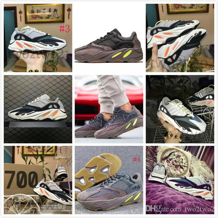 dd1fe5d7d2cdc 2019 With Box 700 Wave Runner Mauve EE9614 B75571 Running Shoes Men Women  B75571 Stitching Color Top Quality Athletics Sneakers US 5 11.5 Boys Running  Shoes ...