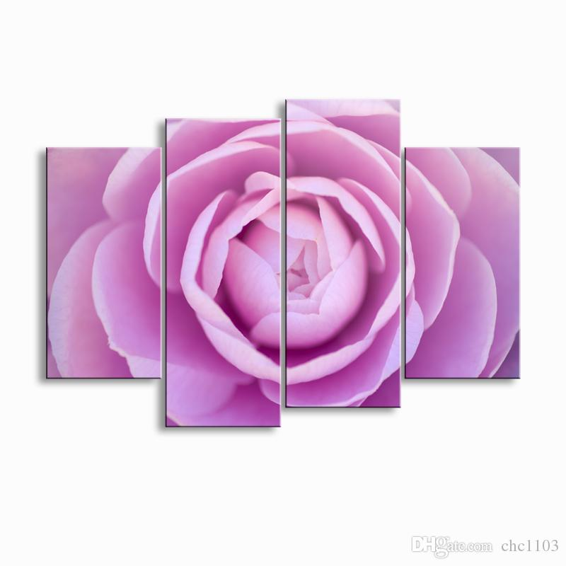 Painting & Calligraphy Print Rose Canvas Poster Wall Art Living Room ...