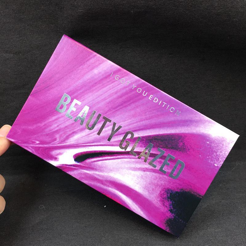 Beauté Glacé Fard à Paupières Palette 18 Couleurs Je Vous Toi Edition Étanche Ombre à Paupières Poudre Maquillage Des Yeux Ombre Palette Cosmétiques