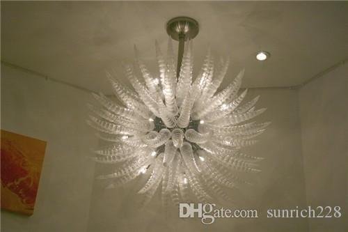 Lampadario in vetro soffiato decorativo personalizzato AC LED Porcellana  Outlet in stile Murano Stile Art Design Lampade a sospensione in stile turco