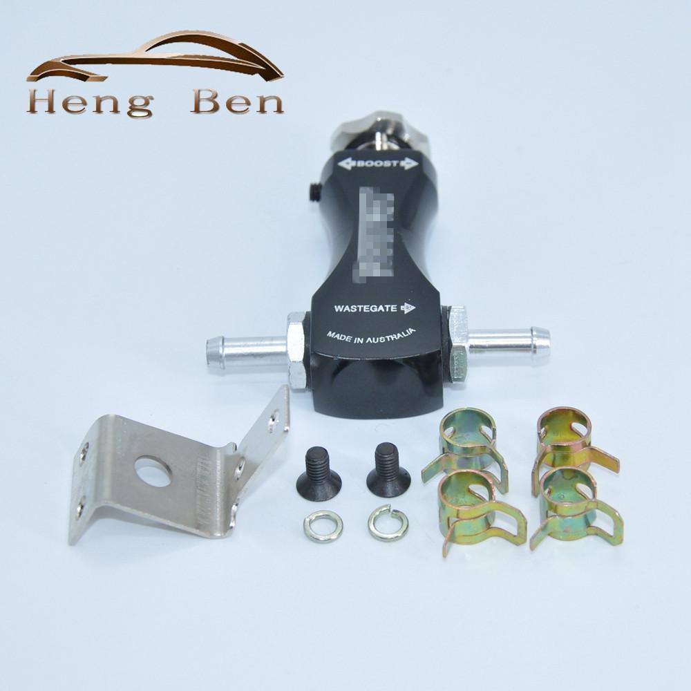 HB Universal Car Racing Turbo Boost Controlador Válvula T Manual Boost Controlador de Carregador de admissão de Ar Turbo Fit A Maioria Dos Carros