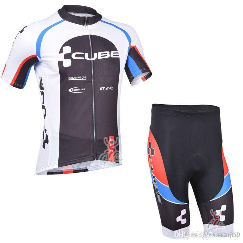 Cycling Jersey Sets 2017 Team CUBE Cycling Clothing Maillot Ciclismo ... 7b4350fcc