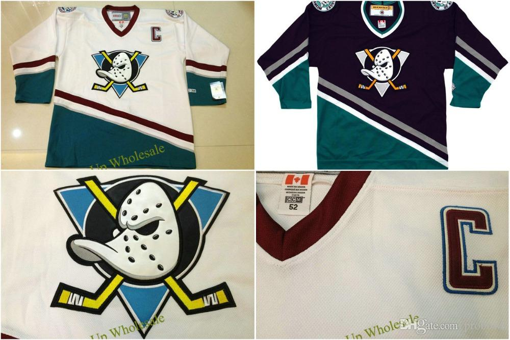 2019 Mens 99 Charlie Conway 2016 Custom Mighty Ducks Of Anaheim 1996 06  Hockey Jersey White Green Womens Youth Your Name Your Number Size XS 5XL  From ... f571abd213