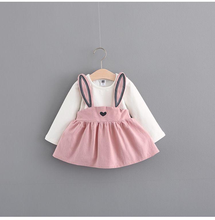 Compre Vestido Para Bebés Niñas 0 3 Años Nuevo Otoño Estilo De Moda Ropa  Infantil Algodón Vestidos Para Niñas Bebés A  13.26 Del Smarth homevip  65b3977f3db