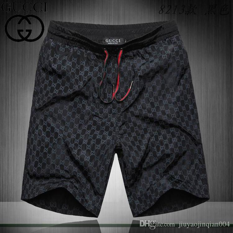 2019 Summer 4A Board Shorts Men's 4 Stretch Shorts Bermuda Surf Swimwear Quick Dry Beach Shorts