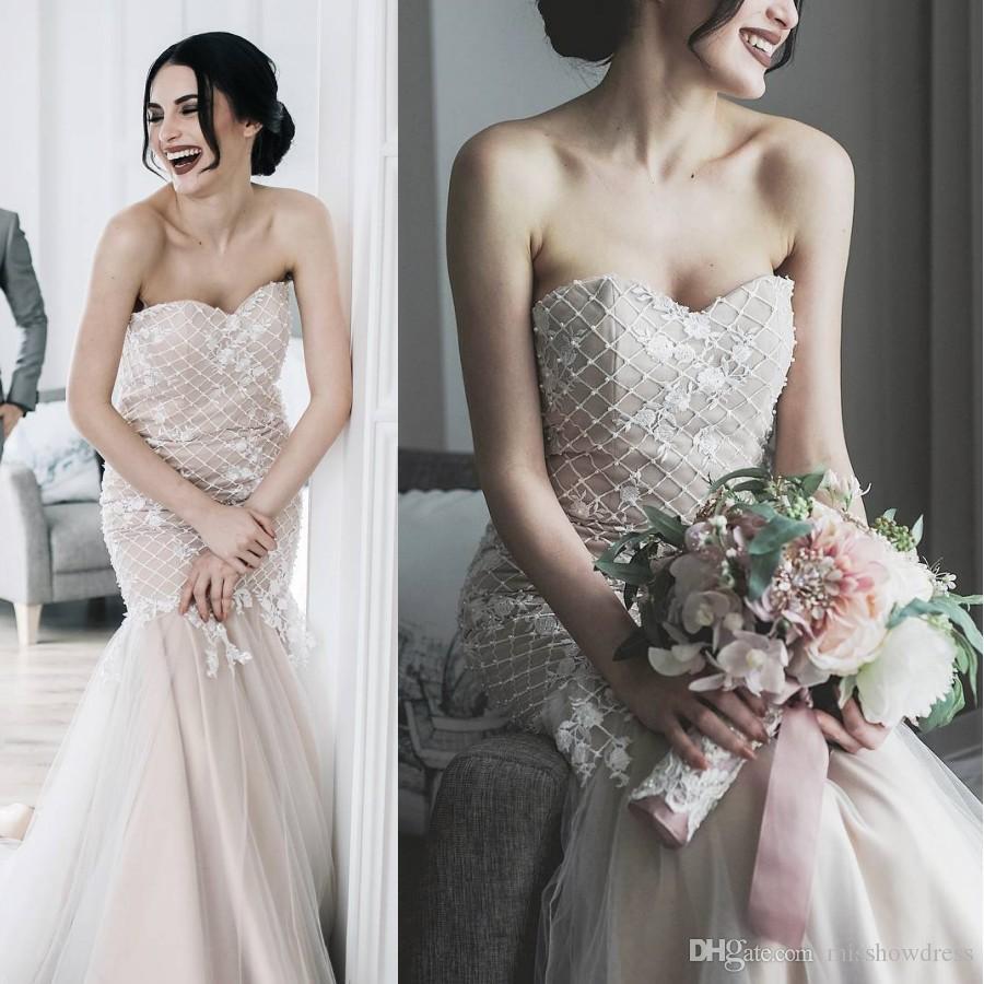 Sweetheart Beach Wedding Dresses