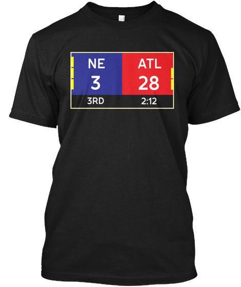Ne 3 28 Atl 34 Final T 3rd 2:12 33 Ot Hanes Tagless Tee T-Shirt