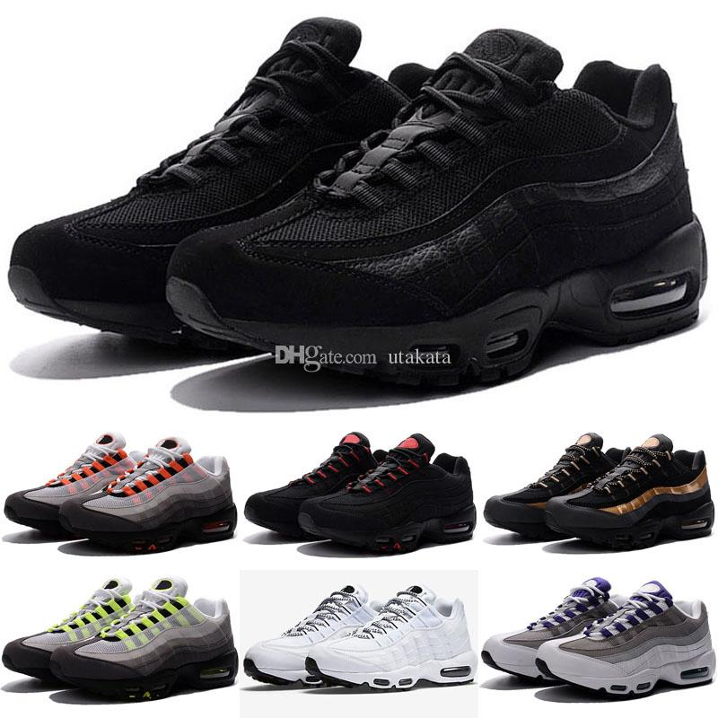 068f390c85 20th Anniversary MID Shoe 95s Sneakerboot 95 Black White Army Boots Men  Autumn Winter Air Cushion Ankle Sealed-zip Running Shoes Size 40-46 95  Running Shoes ...