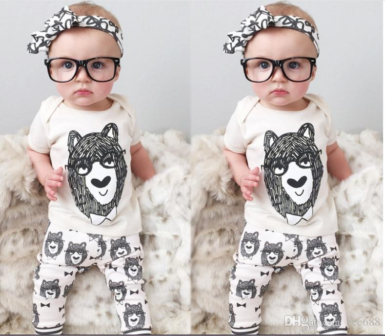 94f8694fa6a7 2019 2019 Summer Style Infant Clothes Baby Clothing Sets Boy Cotton ...