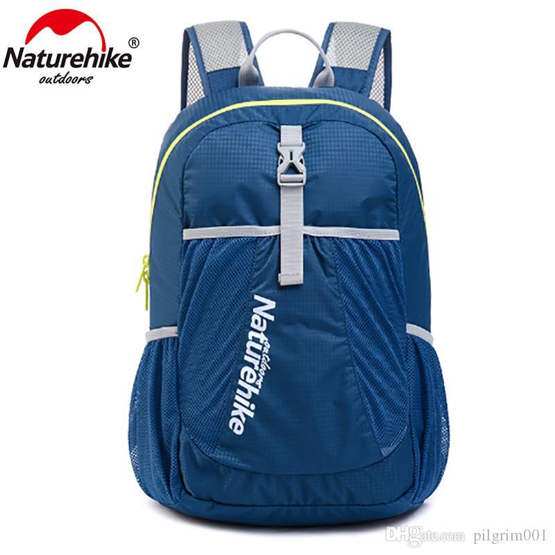 NatureHike mochila deporte hombres mochila de viaje mujeres mochila ultraligero ocio al aire libre mochilas escolares bolsas 22L