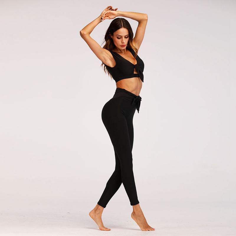 Acquista OL Sport Da Donna Adatta Yoga Nera Set Abbigliamento Sportivo Da  Donna Traspirante Abbigliamento Da Palestra Abbigliamento Sportivo Da Donna  Sexy ... 29dbd60be64