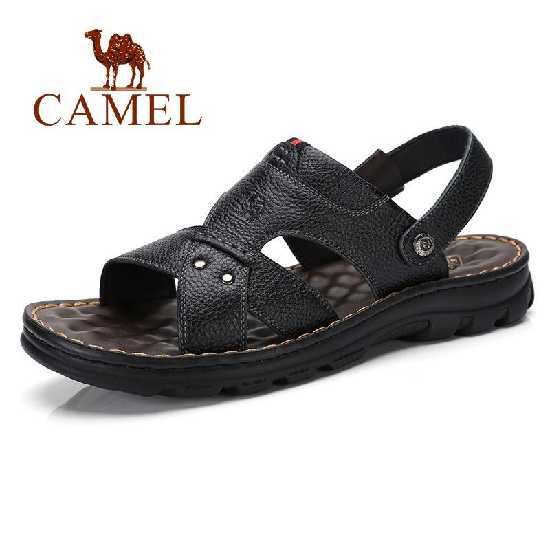 d41670d0bda6a Summer New Genuine Leather Sandals Men Shoes Business Casual ...