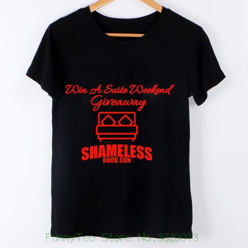 Mangas Camiseta Mujer Con Para Estampado Palabras Compre Sin De qzfEgw4q