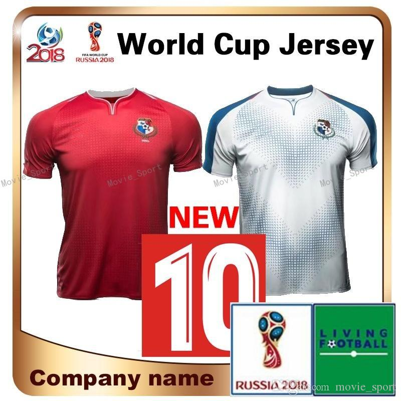 f91f39595 2018 World Cup Panama Home Soccer Jersey Thailand Panama TORRES ...
