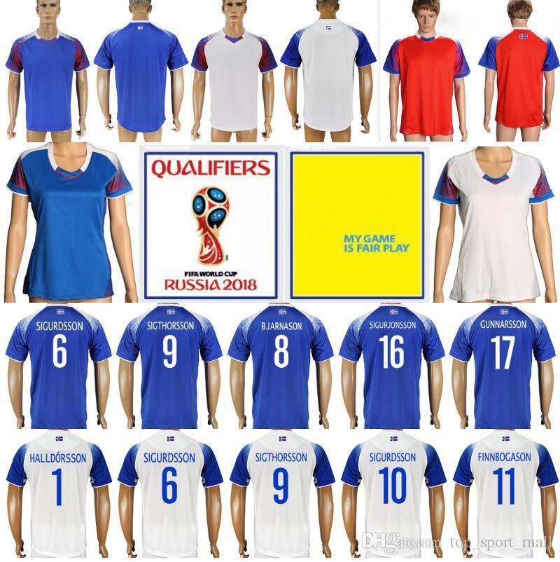 huge discount 71a4d dadaa italy iceland 9 sigthorsson home soccer country jersey 77940 ...