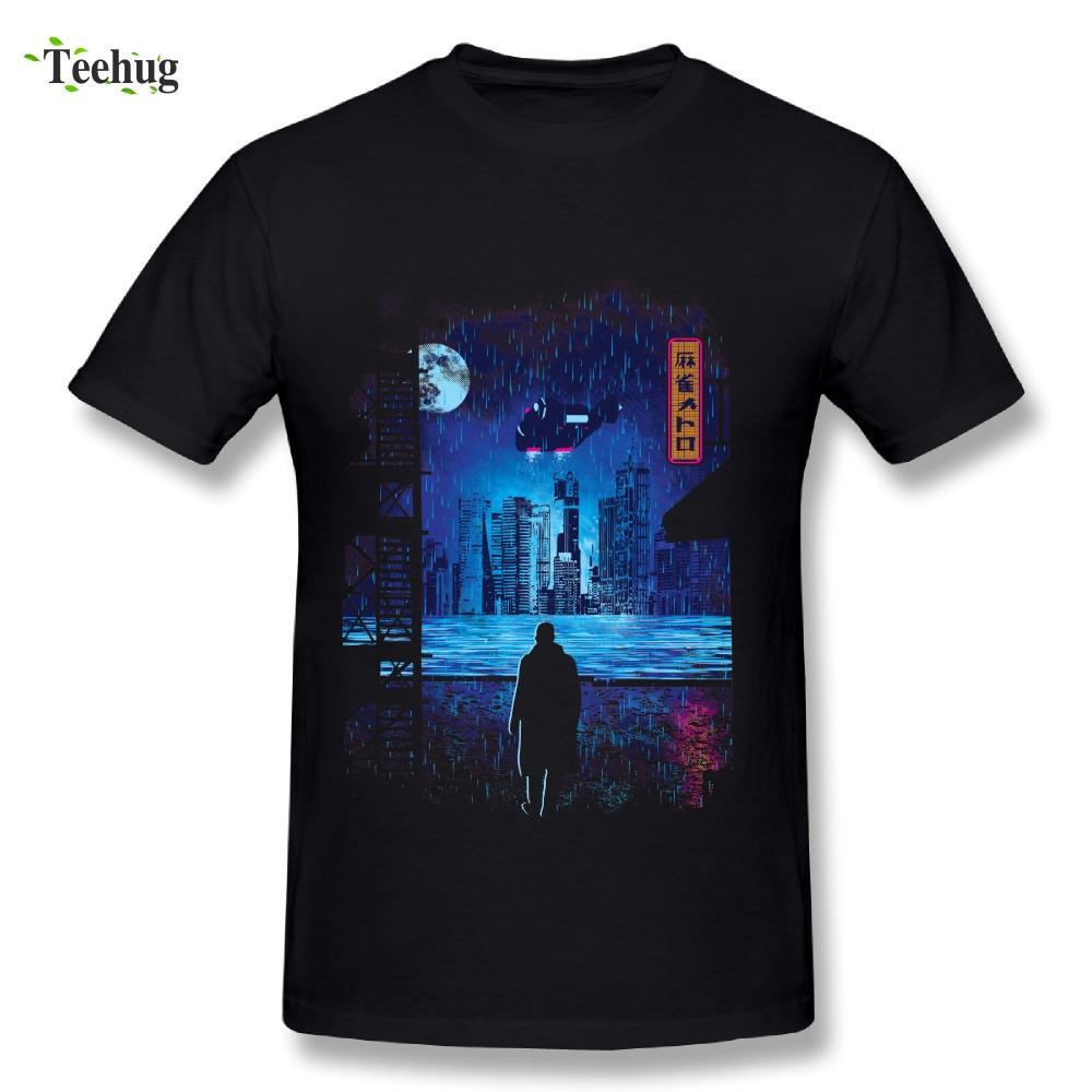 2018 Men Blade Runner 2049 Movie T Shirt Cool Man Custom Design T