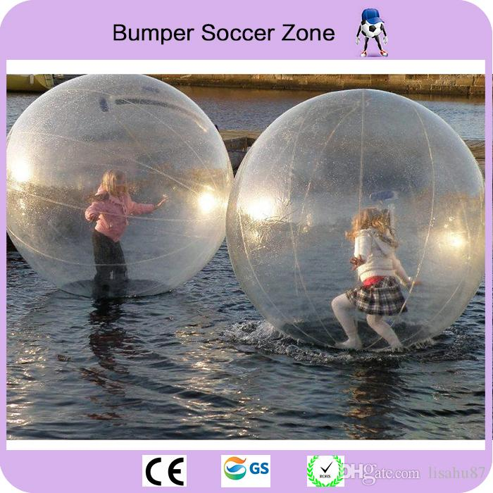 2m Inflatable Water Walking Ball Water Rolling Ball Water Balloon Zorb Ball Inflatable Human Hamster Plastic