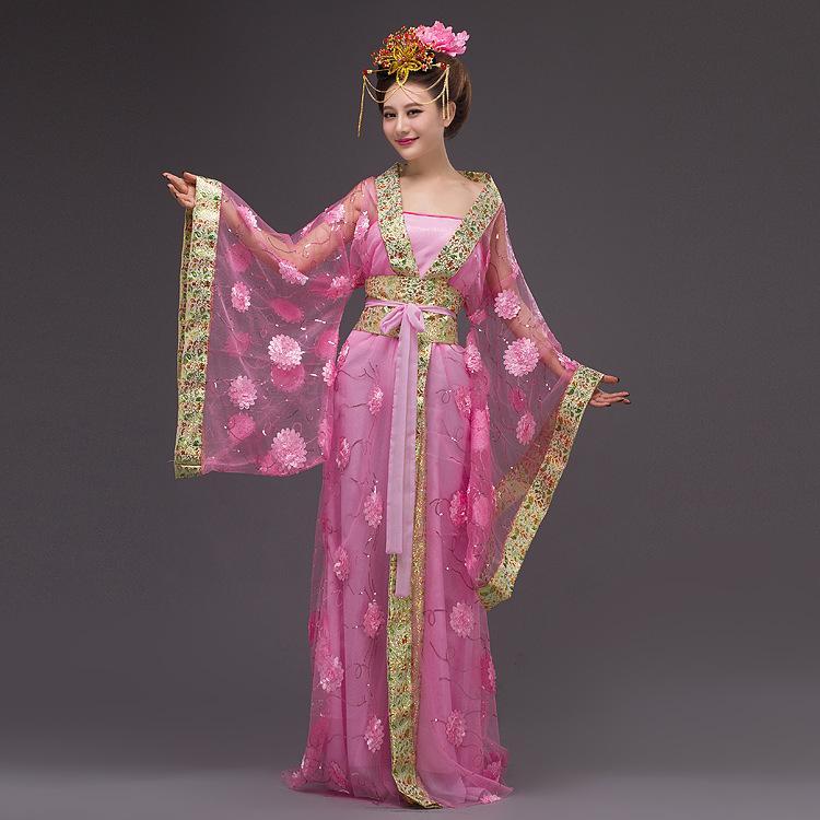 198c61388 2019 Chinese Princess Costume Women Queen Yarn Dress Ladies Chinese ...
