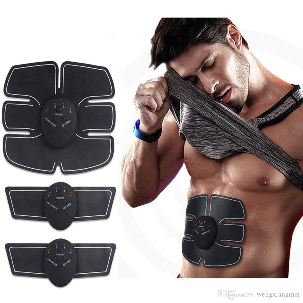 Abs Toner abs Abdominal Muscle Toner Electric EMS Muscle Stimulator Weight loss Body slimming Massage