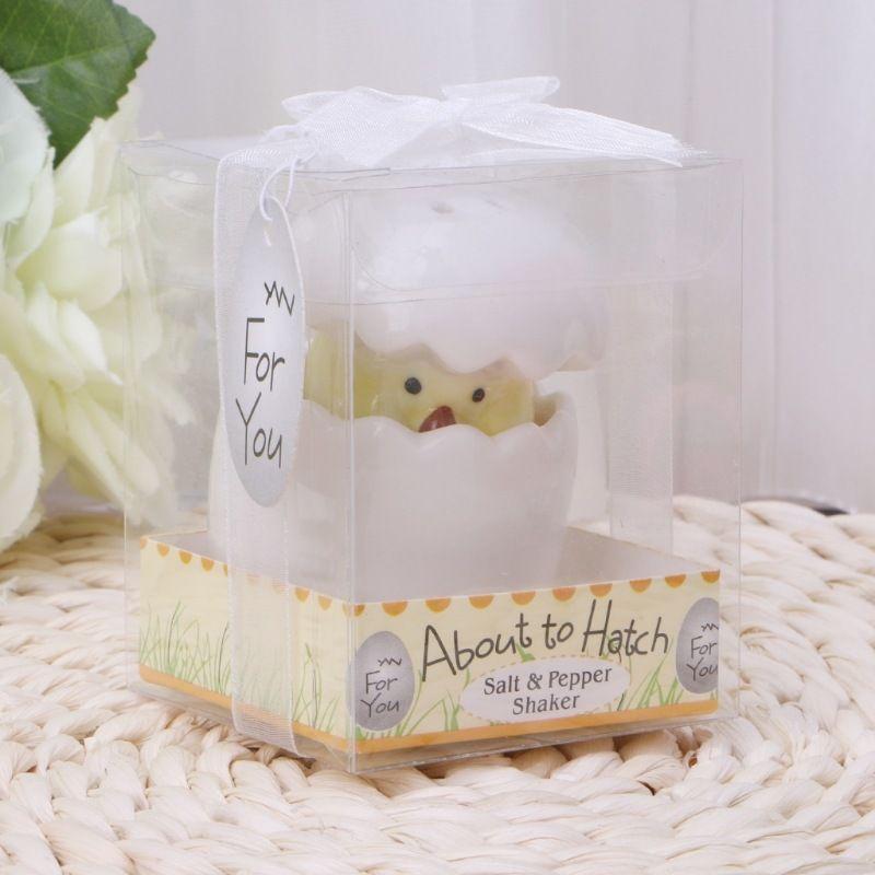 Ceramic Salt Pepper Spice Shaker Seasoning Can Chick Egg Style Pot Cooking Tableware Cumin Powder Box Tool