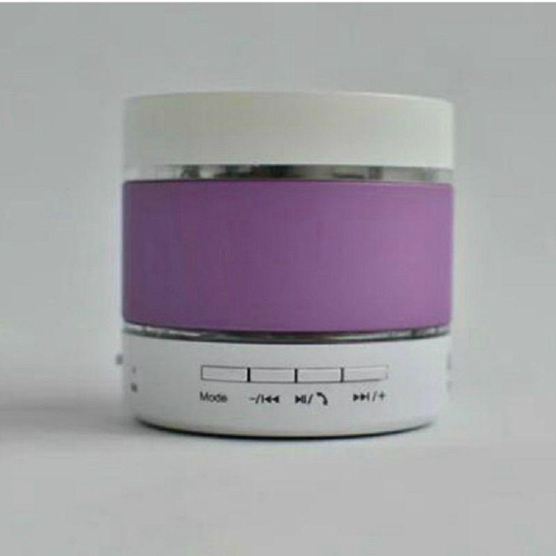 LED Portable Mini Bluetooth Speaker Cheap Wireless S09 Enhanced MP3 Music Player 3 LED Light Loudly Super Bass Metal FM Hi-Fi Handfree