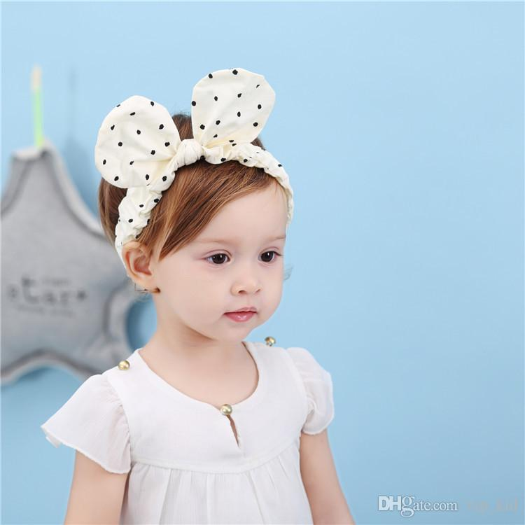 409618433aab9 White Color Hair Accessories New Children S Hair Band Hair Accessories  Headdress Wave Rabbit Earrings Parent Child Girl Headband B 01 Hair  Accessories For ...