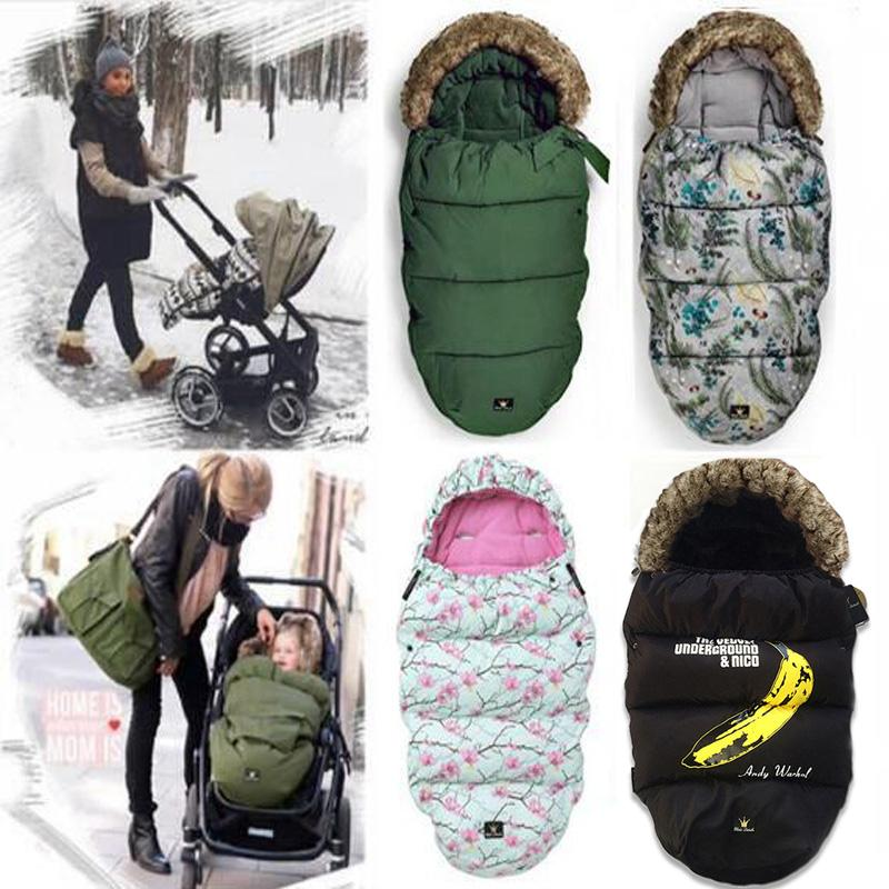 Baby Sleeping Bag For Stroller Warm Winter Newborn Envelope Kids Thick Foot Cover For Pram Wheelchair Infant Stroller Footmuff Sleeping Bags For Toddlers ... : baby wheel chair - Cheerinfomania.Com