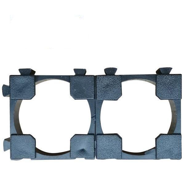18.2mm support de support de batterie au lithium 18650 support de support 1 support de combinaison ignifuge de bricolage ABS cellulaire