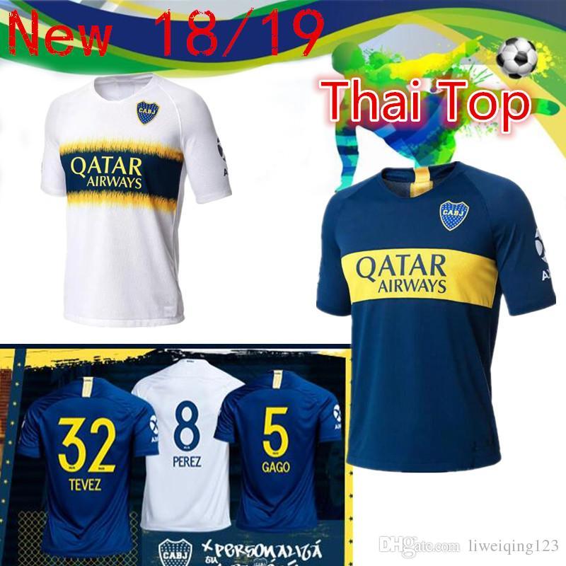 66e7838ff SIZE S-2XL 18 19 Boca Juniors Home Soccer Jerseys Uniforms Men s ...
