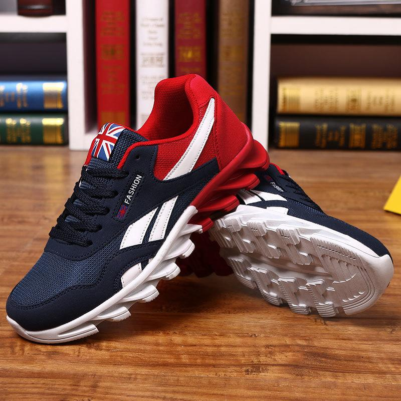 7a367f235175d8 ... Für Männer Frühling Herbst Atmungsaktive Schnürsenkel Zapatillas  Sneaker Erwachsenen Rutschfeste Männliche Schuhe Plus Größe 39 46 Sport Von  Cn000