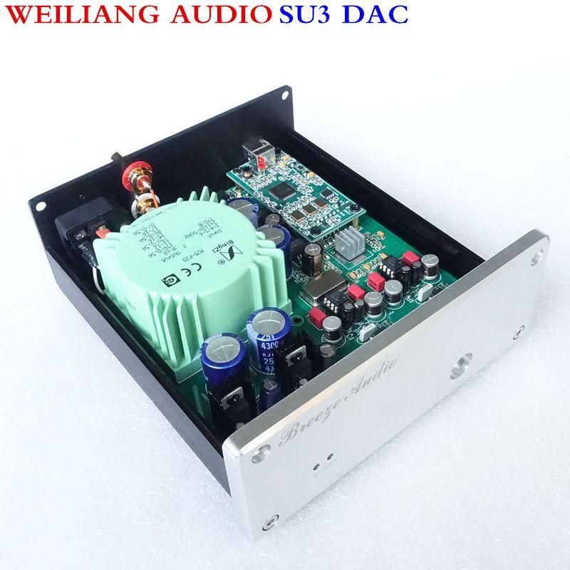WeiLiang Audio & Breeze audio SU3 ESS9018 asynchronous USB decoder DAC