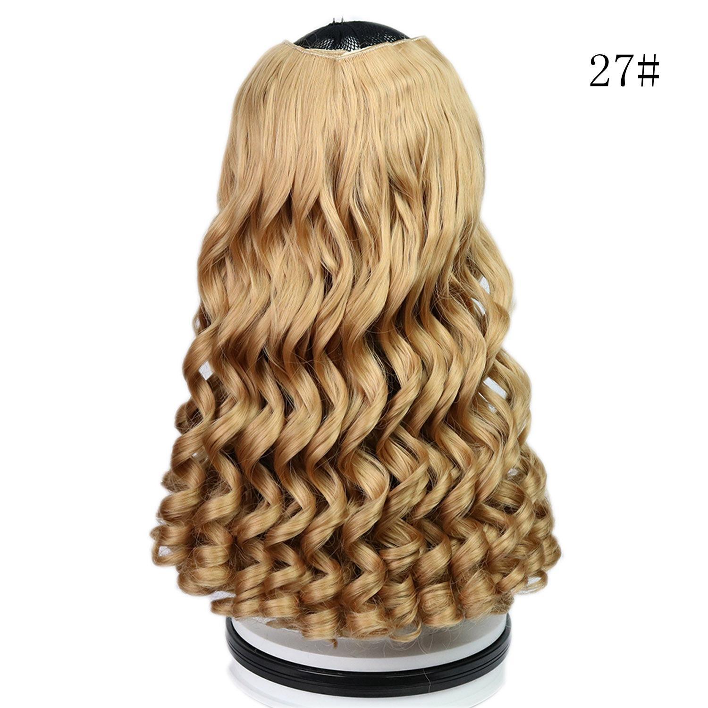 2018 Frauen Lace Front Mann Haar Wellenförmige Brasilianische Chemische Faser Spitze Ein Stück 6 Karten