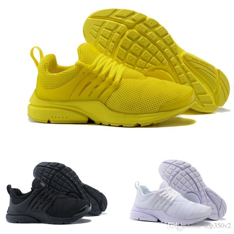 online retailer 1ae3e b8ac6 ... QS Hombre Mujer Zapatillas De Deporte Tripel Negro Blanco Rojo  Zapatillas De Deporte Para Hombre Zapatillas Deportivas Atlético Jogging Zapatos  Tamaño ...