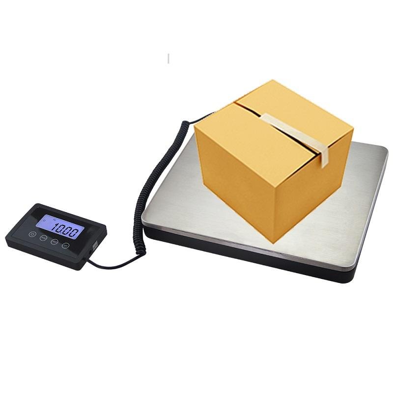 100gX180KG Postal Digital Floor Scale Electronic Balance Weight Bench Commercial Shipping Digital Platform Scales LCD AC Power