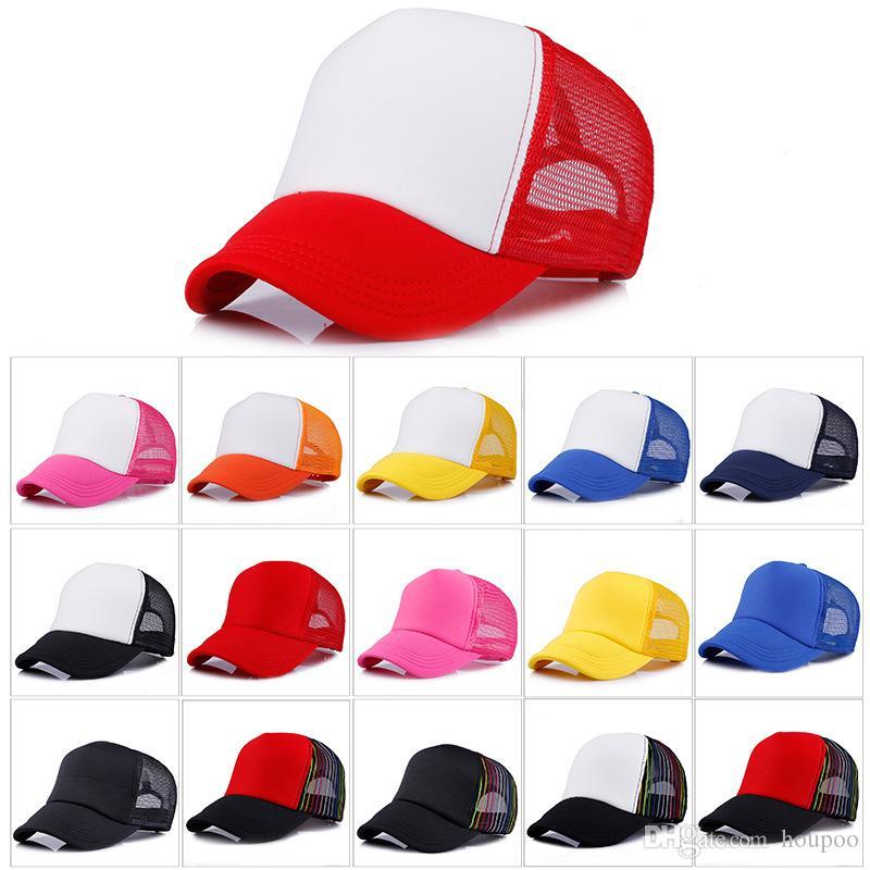8fd616446395f Bulk Adult Trucker Cap Adjustable Baseball Caps Hat Casquette Snapback  Designer Hats Dad Hat Fitted Hats Women Mens Hats Unique And Cheap Wedding  Favors ...