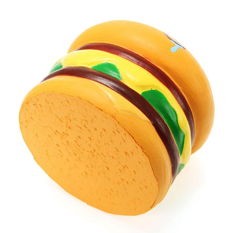 Squishy Hamburger 8.5cm Burger Collection Slow Rising With Packaging Gift Decor Soft Toy Phone Straps