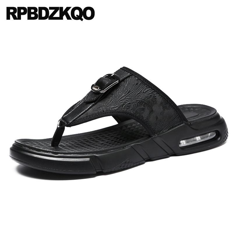 0c640b1699bbbc Slippers Designer Shoes Men High Quality Black Platform Flip Flop Summer Casual  Beach Slip On Open Toe Runway Sandals Slides Pumps Shoes Shoe Sale From ...
