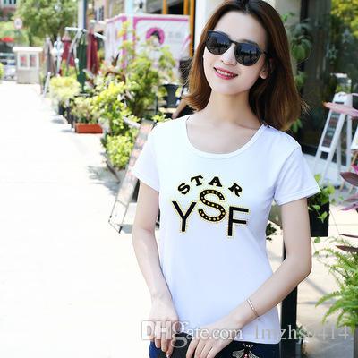 2018 new Vintage Fashion Paris printing T-Shirt summer hipster women t-shirt novelty design casual ladies Tops cute Girl Tee