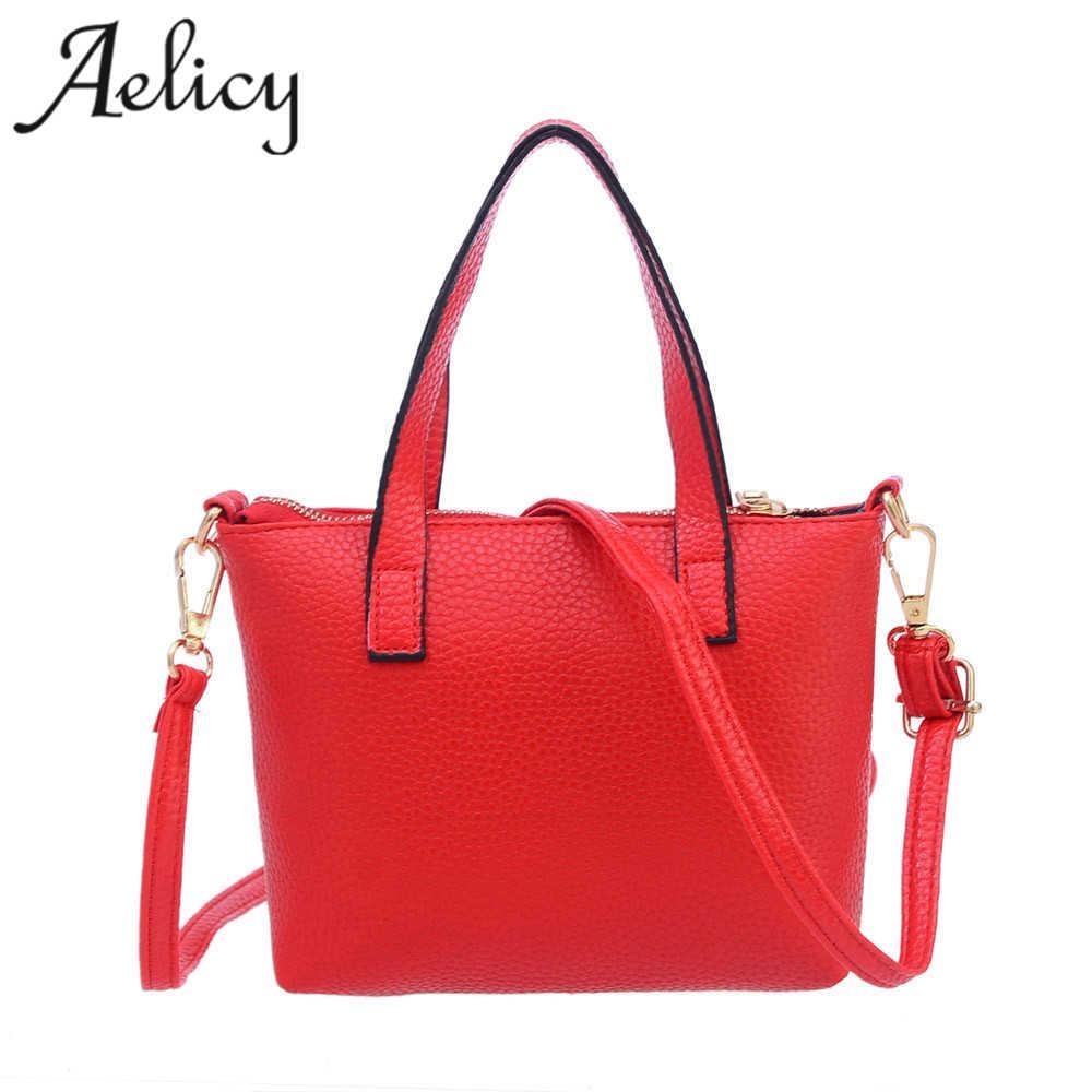 81585c7512 Aelicy Women Fashion Handbag Shoulder Bag Tote Ladies Purse High Quality  Women Shoulder Bag Ladies Bags Leather Brand 2017 Leather Handbags Handbags  On Sale ...