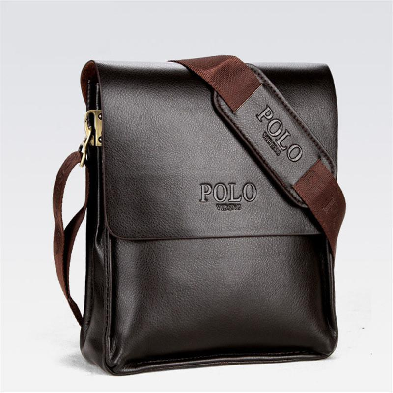 26b139e8c Mens Briefcase Business Bags Casual Business PU Leather Mens Messenger Bag  Vintage Men's Crossbody Bag Bolsas Black Brown Shoulder Bags
