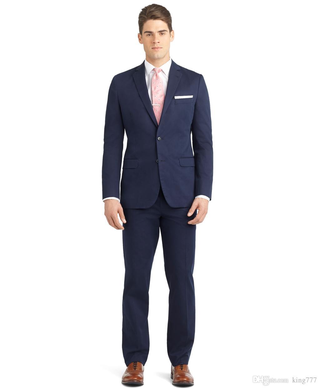 de84c3485cfe5 En Çok Satan Yaka Zayıflama Erkek Iş Takım Elbise Düğün Parti Için Uygun  Zarif Terzilik Ceket + Pantolon + Yelek, $82.82 | DHgate.Com'da