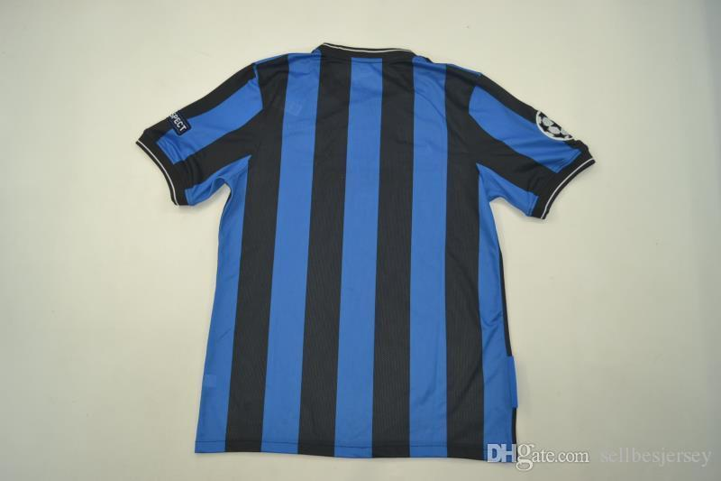 74f1bffd4a5 A+++ Top Thai Retro Jersey Inter 2009 2010 Milito Zanetti Crespo ...