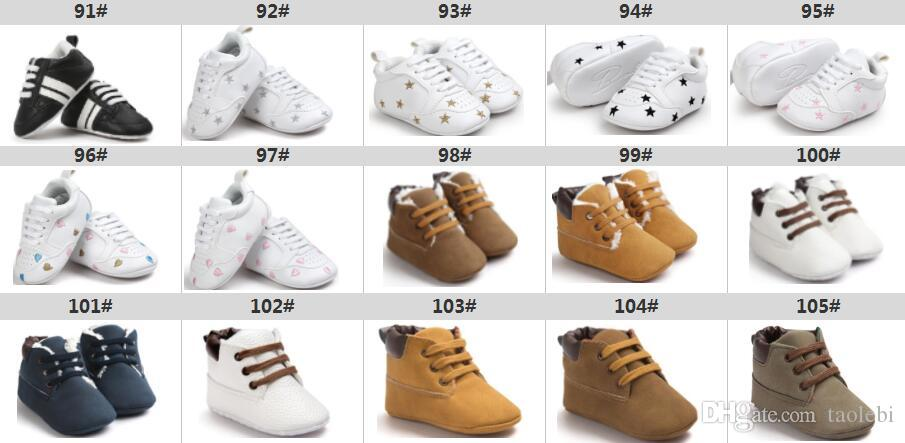 Baby Shoes Baby Prewalkers Baby First walkers Kids Sport Sneakers Shoes 0-18months 330 styles for choose